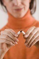 Como aliviar a retirada do tabaco