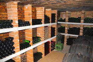 Como armazenar o vinho caseiro