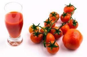 Como a engrossar o suco de tomate