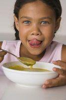 Como a engrossar a sopa de ervilha aguado