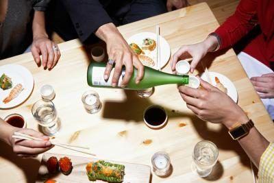 Como dar uma festa jantar de sushi