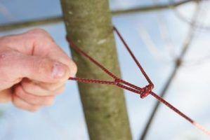 Como amarrar um nó que não escorrega
