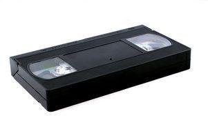 Como a transferência de uma fita de vídeo para um disco