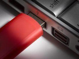Como transferir fotos para um stick flash drive do windows xp