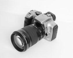 Como solucionar uma câmera digital canon rebel