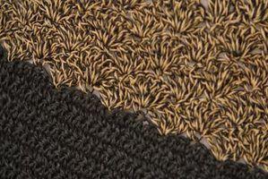 Como solucionar um tapete de crochê pano caseiro que se enrola