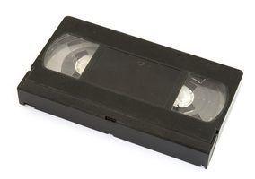 Como solucionar um reprodutor de vídeo que não vai aceitar cassetes de vídeo