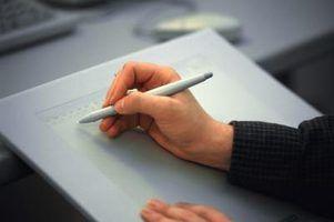 Como usar um tablet como um bloco de desenho