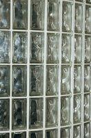 Como usar o bloco de vidro com silicone calafetar