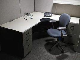 Como usar os armários de cozinha ikea para uma mesa de escritório