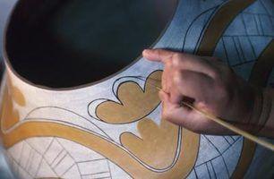 Como usar underglaze na cerâmica