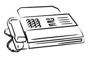 Como utilizar a sua máquina de fax através da internet