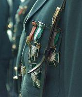 Como usar medalhas militares no desgaste formal