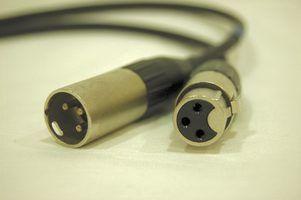 Como fio um cabo de microfone