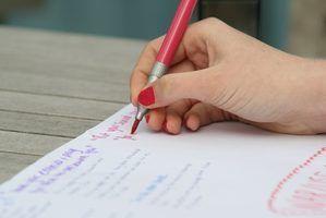 Como escrever uma carta de resposta a um ensaio escritor