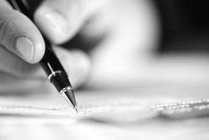 Como escrever uma tabela com anotações de conteúdo