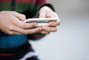 Texting pode ser uma maneira simples de obter um pedido de desculpas inicial de diâmetro.