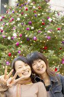 Como escrever cartões de natal em japonês