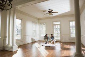 Idéias e fotos para o desenho de um quarto familiar e cozinha adjacente