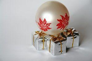 Idéias para uma decoração de mesa de natal