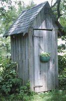 Idéias para uma casinha de jardim decorativo