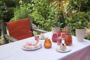 Idéias para um chuveiro do casamento festa no jardim