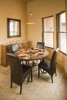 Idéias para uma mesa em uma pequena cozinha