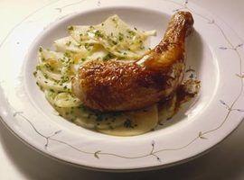 Ideias para a galinha para um buffet