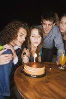 Ideias para celebrar um aniversário de 20 anos