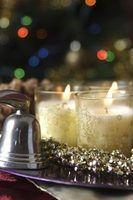 Indoor iluminação do natal e idéias de decoração
