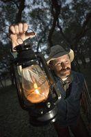 Usos indoor para lanternas de querosene