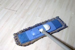 Lista de verificação de limpeza industrial