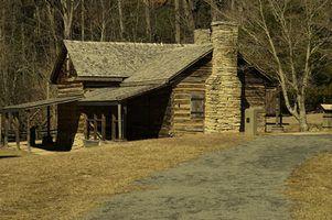 Barato cabanas de madeira atraentes em ohio