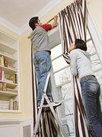 Dicas de instalação para as hastes de cortina ajustável