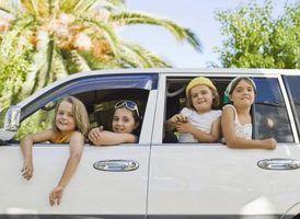 Níveis de ruído interior de minivans