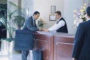 As perguntas da entrevista para um emprego recepção do hotel