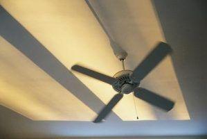 É perigoso deixar ventiladores de teto em?