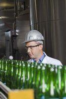 Descrições e posições para a produção de cervejaria de trabalho