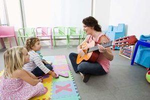 Kindergarten idéias de música de concerto de música