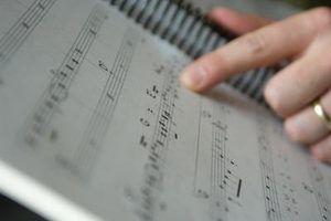 Tipos de notas na música