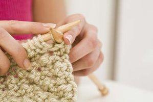 Projetos de tricô com grandes agulhas de tricô