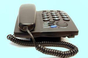 Opções de telefone fixo