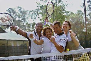 Regras e regulamentos de tênis do gramado