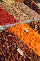 Lista de países exportadores de frutas secas