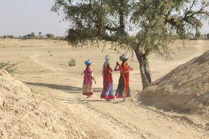 Lista de desertos na índia