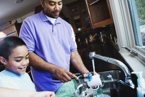 Lista de casa de família engraçada normas de limpeza