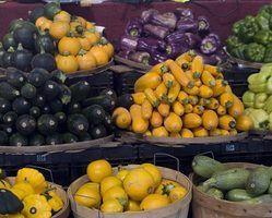 Lista de alimentos e vegetais saudáveis