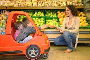 Lista de atividades comerciais com crianças