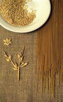 Lista dos tipos de proteínas em cereais