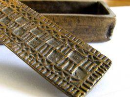 As propriedades dos materiais de bronze